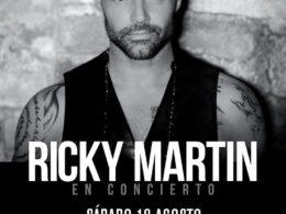 CONCIERTO RICKY MARTIN SANTIAGO DE COMPOSTELA